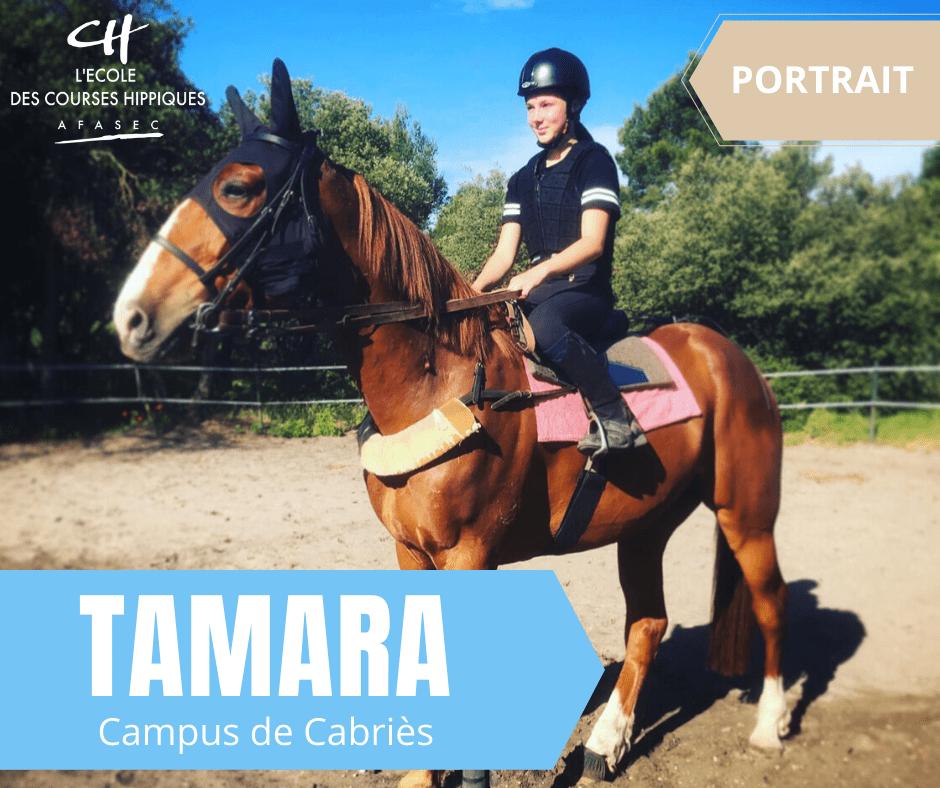 Cabriès : Tamara le trot dans la peau