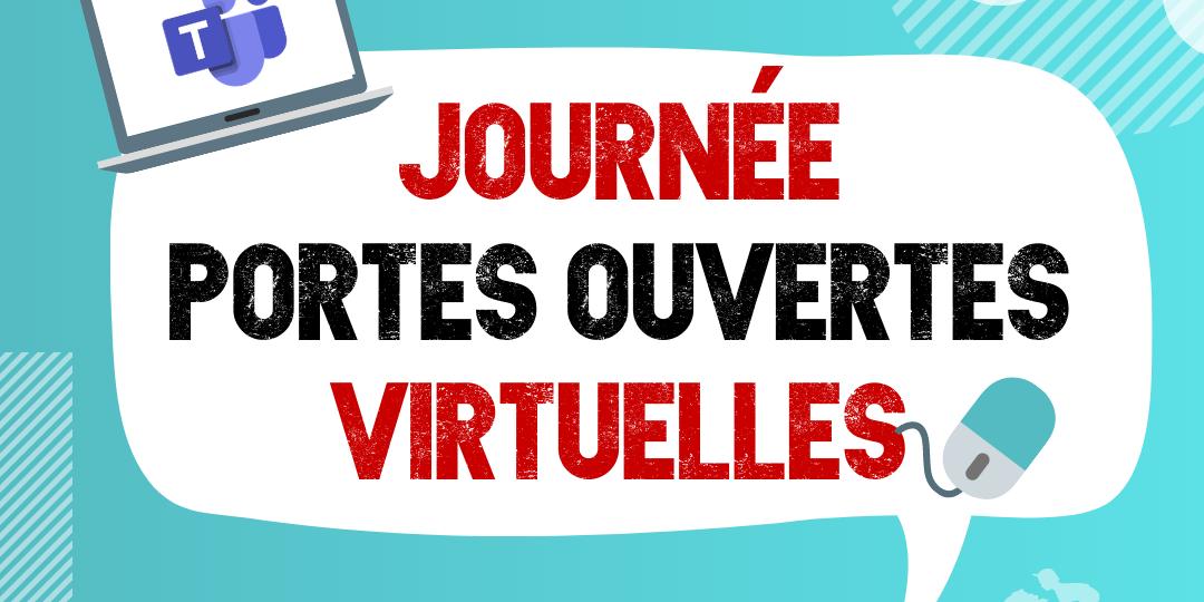 JPO virtuelle 2021 - Instagram visuel statique